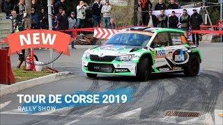 BEST OF WRC TOUR DE CORSE 2019 RALLY SHOW PURE SOUND