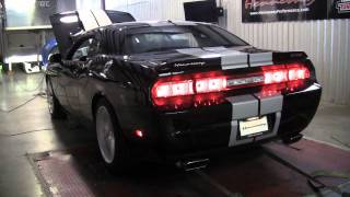 2011 392 Challenger SRT8 - 500 HP Chassis Dyno Test