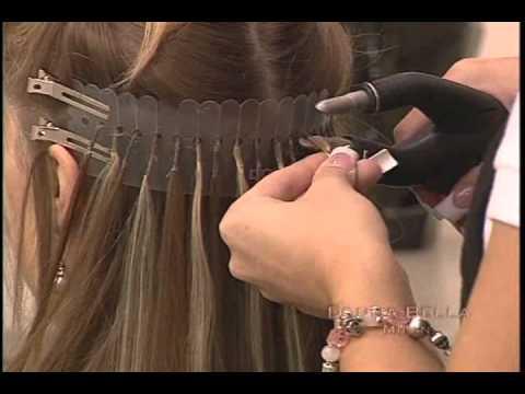 Donna Bella U-Link bond hair extensions