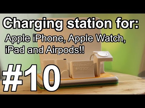 3D Printed Stand for Apple iPhone iPad Apple Watch and Airpods