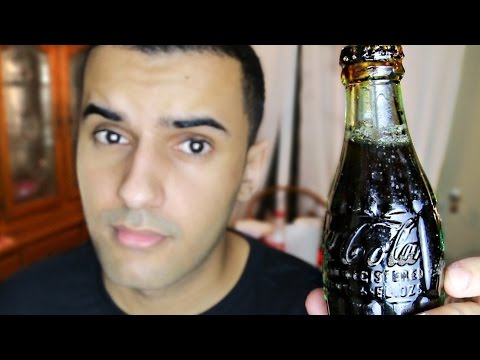 DRINKING A 1939 WORLD WAR 2 SOLDIERS COCA COLA!! (TASTE TEST!!)
