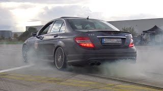 видео mercedes burnout