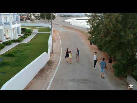 Crete Beaches Full HD Video Serita Beach Hotel DJI Drone