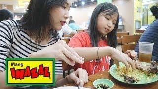 How my sister and I eat MANG INASAL