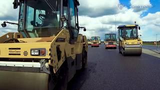 Открылось движение по новому участку обхода Гатчины на трассе Р-23