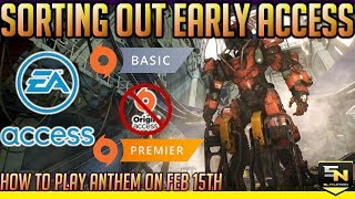 Baixar Anthem | Lets Sort Out Early Access