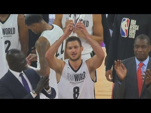 NBA Africa Game 2018! Danilo Gallinari Wins MVP! Team Africa vs Team World 2018