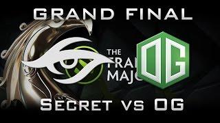 Secret vs OG, Frankfurt Major, Grand Final, Game 2, Русские комментаторы