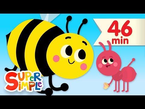 The Bees Go Buzzing | + More Kids Songs & Nursery Rhymes