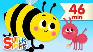 The Bees Go Buzzing | + More Kids Songs & Nursery Rhymes