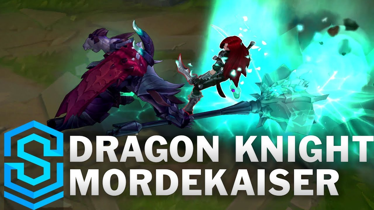 Riot Please Recolor Particles To Blue For Dragon Knight Morde