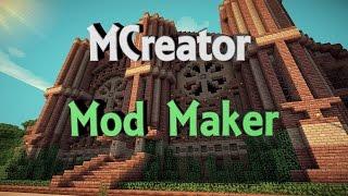 mcreator making a small mod