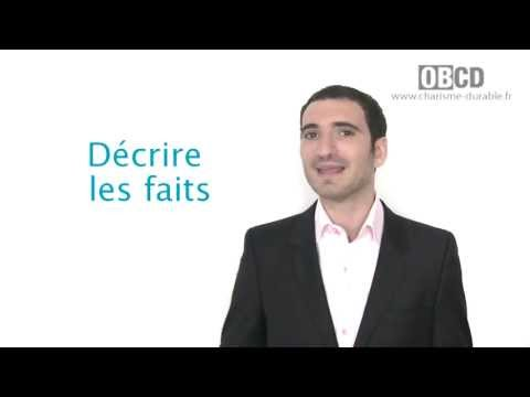 Technique de recadrage : le DESC - Charisme Durable