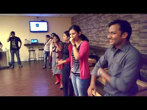 Amazing and innovative song of Time Inc Bangalore office team