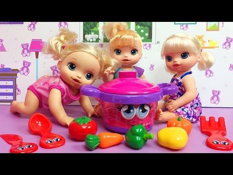 Baby Alive Ile Oyuncak Bebek Ve Konuşan Oyuncak Tencere | EvcilikTV
