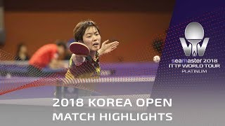 Saki Shibata vs Pyon Song Gyong | 2018 Korea Open Highlights (Pre)
