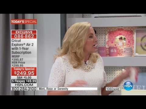 HSN | Cricut Explore Air II Launch with Anna Griffin 10.05.2016 - 12 AM
