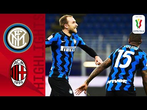 Inter 2-1 Milan   Eriksen Scores a 97th to Win Derby THRILLER!   Coppa Italia 2020/21