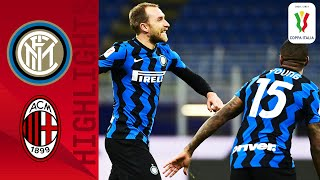 Inter 2-1 Milan | Eriksen Scores a 97th to Win Derby THRILLER! | Coppa Italia 2020/21