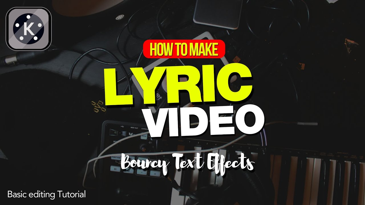Paano Gumawa ng Lyric Video sa Cellphone | Tutorial