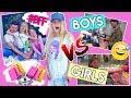 BOYS vs GIRLS 😵 BFF OUTFIT SHOPPING CHALLENGE 👕 MaVie