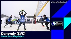 #SnowVolleyball European Tour - Donovaly (SVK) - Men's Final Highlights
