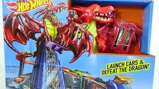 NEW HOTWHEELS TRACK SET DRAGON BLAST 2017