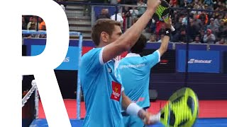 Resumen Ruiz - Marina vs Diaz - Sanchez | Octavos Barcelona Master 2016