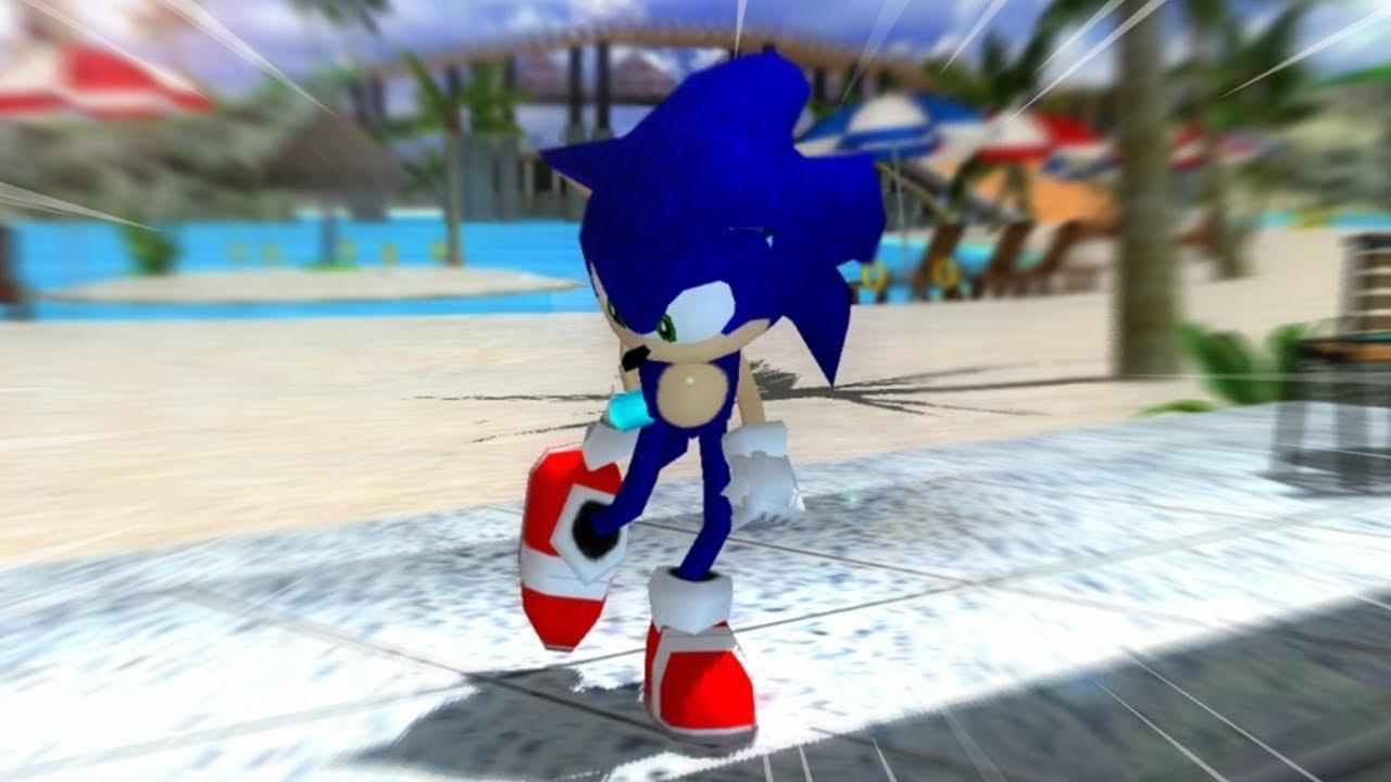 Sonic '06    but it's Sonic Adventure