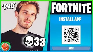 *DOWNLOAD* Nieuwe Fortnite App?! Proximity Launcher GAMEPLAY?! PewDiePie Is PRO!!