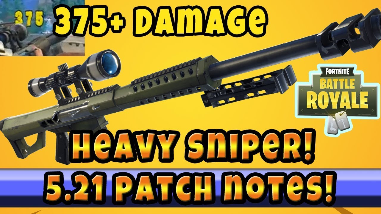 The New Heavy Sniper 50 Cal 300 Damage Minigun Nerf New Modes