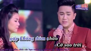Karaoke Phận Bạc (KHV & DHL) - Song ca với saobien