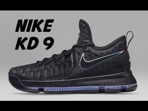 "Nike KD 9 ""Gold Medal Black/Metallic Gold Red Cheap Shoes For Sale"