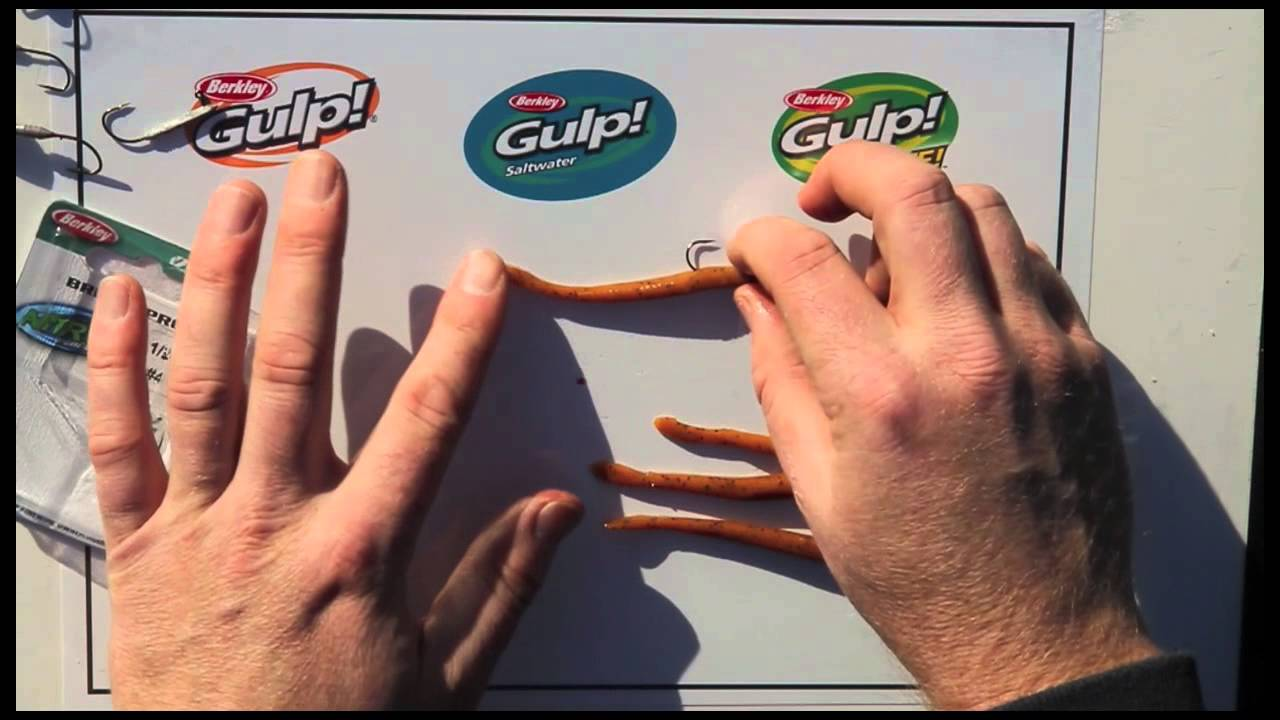 "Berkley Gulp Soft Scented Bait Fry 3/""//7Cm"