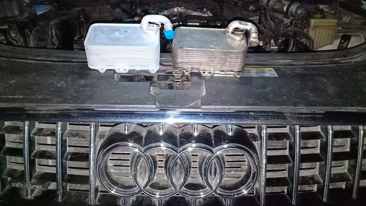 hight resolution of how audi q7 tdi 3 0 audi a6 engine oil cooler replace