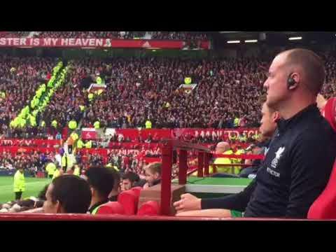 Allez Allez Allez from the Liverpool bench