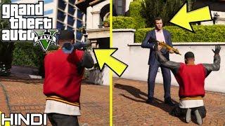 DESTROYING MICHAEL'S HOUSE in GTA V | KrazY Gamer |
