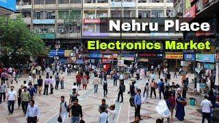 Nehru Place Market Delhi - Computer Market - Cheap Electronics - Nitish Lifestyle