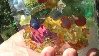 РЕКВИЗИТ ШОУ МЫЛЬНЫХ ПУЗЫРЕЙ своими руками КРУГЛЫЕ РАКЕТКИ с драгоценными камнями ИЗ ПРОВОЛОКИ