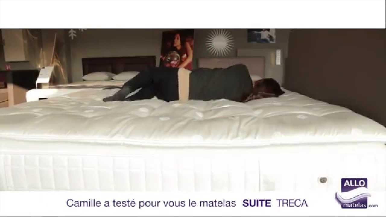 Matelas Suite Palace Treca Teste Par Camille Allomatelas Youtube