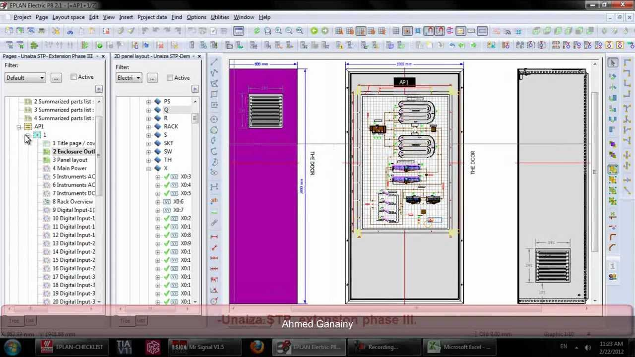 eplan electric tutorial - youtube, Electrical drawing