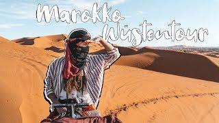 SCHLAFEN in der SAHARA - WÜSTENTOUR in MERZOUGA MAROKKO  l Whats Next Roadtrip #4