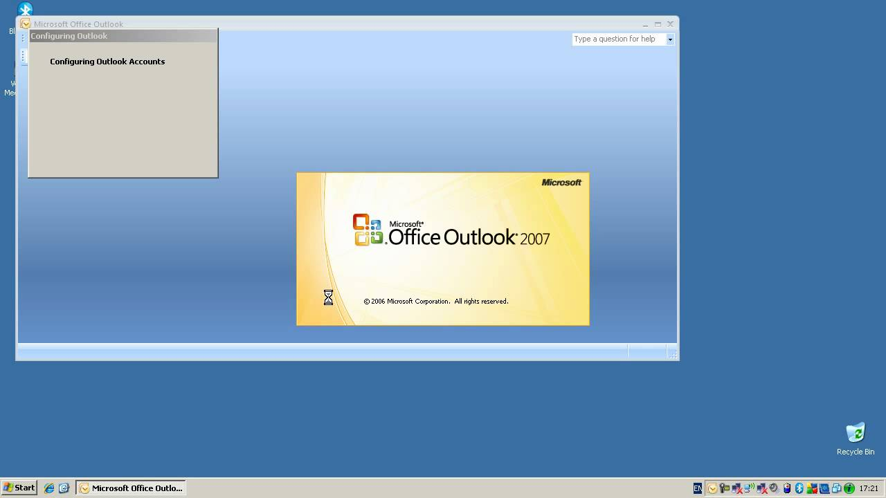 Configuring Microsoft Outlook 2007 To Access An Exchange Server - Windows XP - YouTube