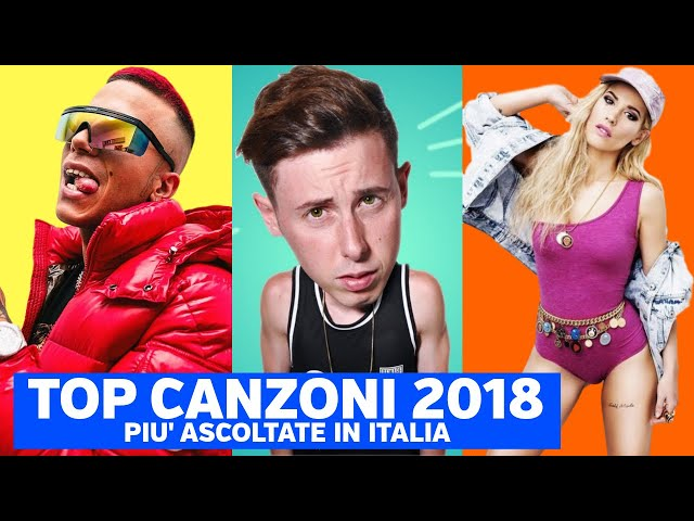 TOP 50 CANZONI 2018 PIU ASCOLTAT