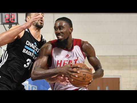Heat's Okaro White Leads Orlando NBA Summer League in Scoring!