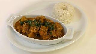 Pollo al Curry (Estilo Hindú)