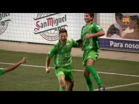 [HIGHLIGHTS] FUTBOL (Juvenil A): Cornellà – FC Barcelona (2-0)