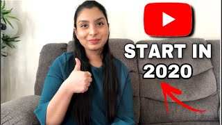 How to START A YOUTUBE CHANNEL in 2020: Beginners guide to YouTube & growing from 0 subscribers