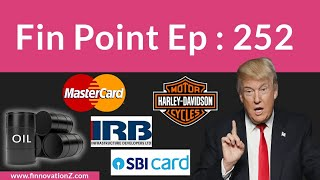 Donald Trump SBI Cards IPO  Debit Card User  IRB Infrastructure Developers  Startups  CRISIL