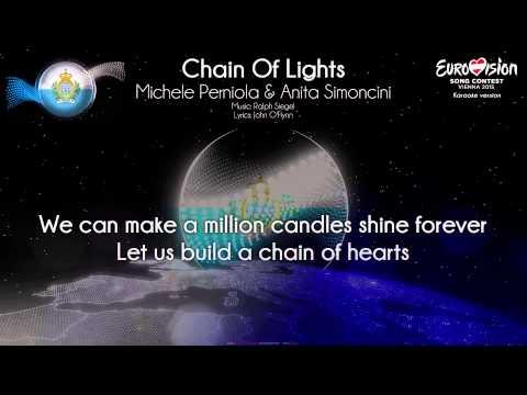 "Michele Perniola & Anita Simoncini - ""Chain Of Lights"" (San Marino) - [Karaoke version]"